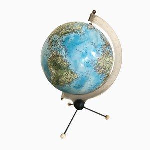 Globe avec 3 Pieds, 1950s