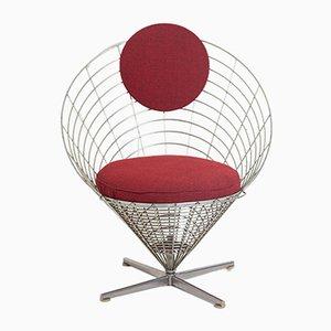 Wire Cone Stuhl von Verner Panton für Plus Linje, 1958