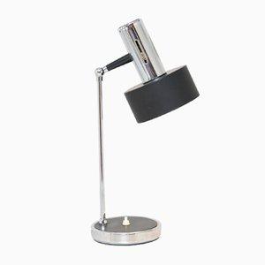 Tischlampe mit zylindrischem Schirm, 1960er