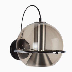 Lampada da parete modello C-1512-20 Globe di Frank Ligtelijn per Raak, anni '60