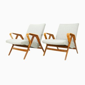 Vintage Armchairs from Tatra, Set of 2