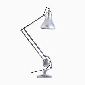 Lámpara de mesa Zig Zag industrial, años 40