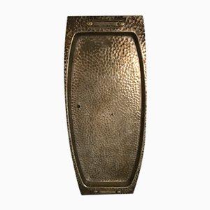 Vintage Stahl Tablett von Vumak