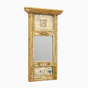 Antique Sengustavian Mirror with Original Paintwork