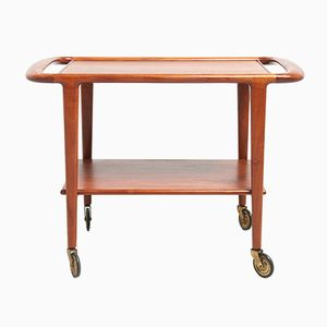 Teak Trolley by Niels Møller for J.L. Møllers, 1960s