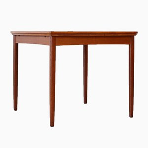 Mid-Century Danish Extending Dining Table by Poul Hundevad
