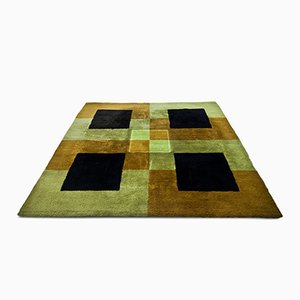 Tappeto quadrato, anni '70