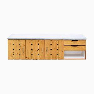 Vintage Les Arcs Sideboard von Charlotte Perriand