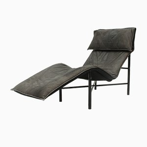 Skye Leather Chaise Longue by Tord Björklund for Ikea