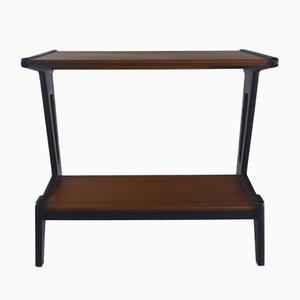 Walnut Console Table, 1960s