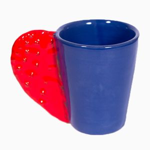 Spinosa Mug in Red & Blue by Marco Rocco, 2018
