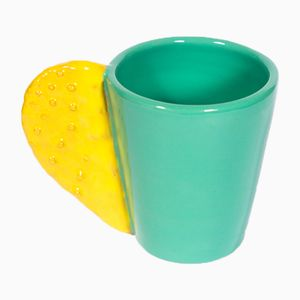 Spinosa Mug in Yellow & Teal by Marco Rocco, 2018