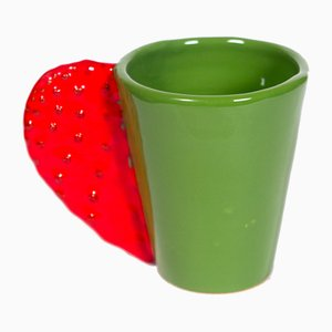 Spinosa Mug in Red & Green by Marco Rocco, 2018