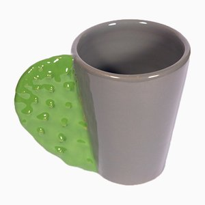 Spinosa Mug in Green & Grey by Marco Rocco, 2018