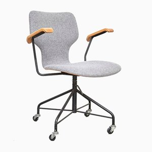 Office Chair by Isamu Kenmochi for Tendo Mokko, 1950s