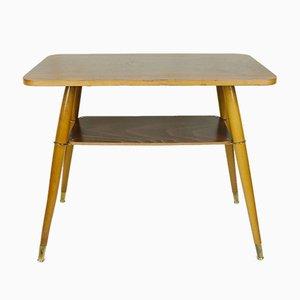 Tavolino in legno di noce, anni '50
