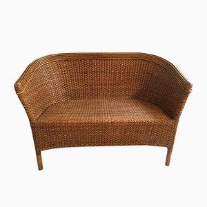 Geflochtenes Sofa, 1970er