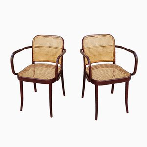 Mid-Century Side Chairs by Josef Hoffmann for Ligna, Set of 2