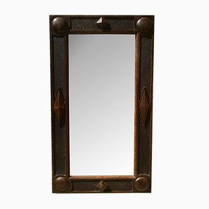 Antique Arts and Crafts Mirror