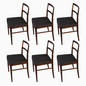 Model 430 Rosewood Dining Chairs by Arne Vodder for Sibast, 1960s, Set of 6