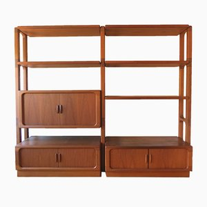 Modular Model 2000 Shelving Unit with Bar from Dyrlund, 1960s
