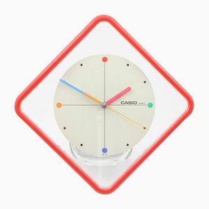 Orologio da parete IQ-22 postmoderno di Casio, anni '80
