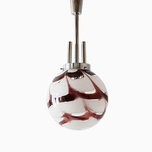 Large Space Age Spheric Murano Glass Pendant, 1970s
