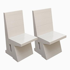 Stühle von Dom Hans van der Laan, 1980er, 2er Set