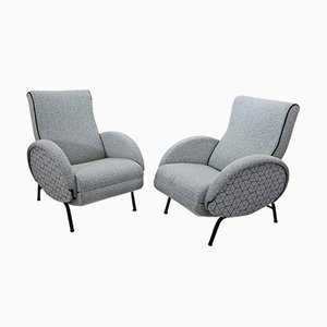 Italian Armchairs from Dormiveglia, 1950s, Set of 2