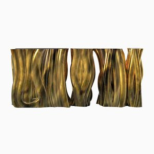Monochrome Gold Konsole von Covet Paris