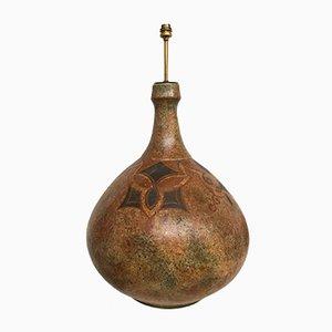 Lampada vintage in ceramica