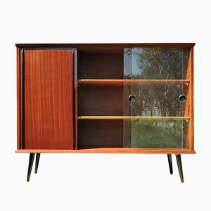 Mahogany Wall Unit, 1970s