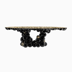 Newton Black & Gold Dining Table from Covet Paris