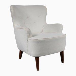 Samt Sessel von Theo Ruth für Artifort, 1950er