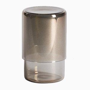 Vasos grises de Orma. Juego de 2