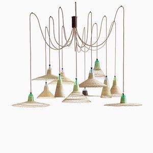 Lámpara PET Chimbarongo de 12 luces de Alvaro Catalán de Ocón