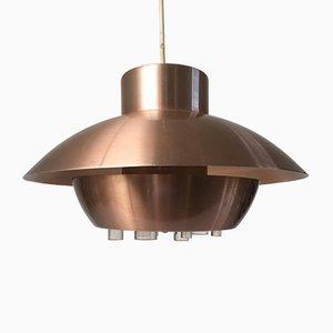 Lámpara colgante UFO era espacial de Raak, años 60