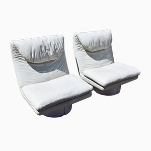 Vintage Lounge Chairs by Ammannati & Vitelli for Comfort Italy, 1970s, Set of 2