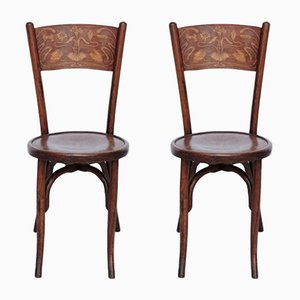 Antique Bentwood Chairs from Codina, 1900s, Set of 2