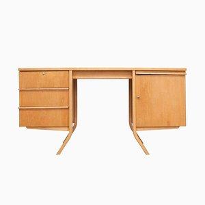 EB04 Birkenholz Schreibtisch von Cees Braakman, 1950er