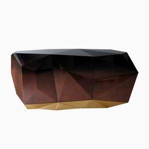 Credenza Diamond color cioccolato di Covet House
