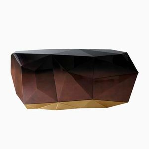 Enfilade Diamond Chocolat de Covet Paris