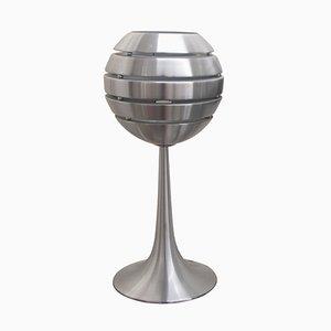 Lampade da tavolo Manhattan in alluminio, anni '70, set di 2