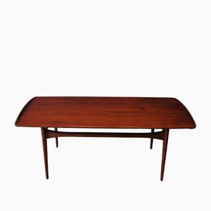 Vintage Danish Teak Coffee Table by Tove & Edvard Kindt Larsen for France and Søn