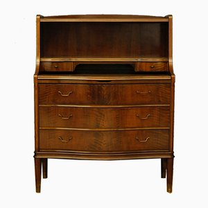 Walnut Secretaire, 1960s