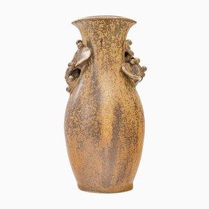 Vaso vintage in ceramica di Arne Bang
