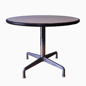 Tavolo da pranzo vintage in alluminio di Charles & Ray Eames per Herman Miller