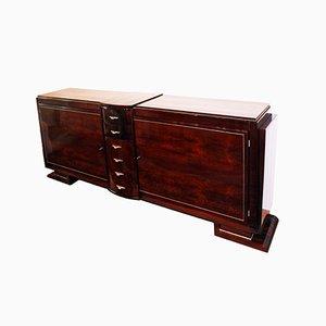 Italian Art Deco Sideboard in Walnut