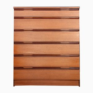Mid-Century Danish Teak Chest of Drawers from Avalon