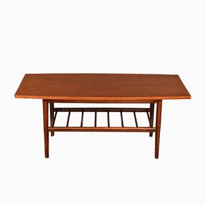 Tavolino da caffè Mid-Century a due livelli